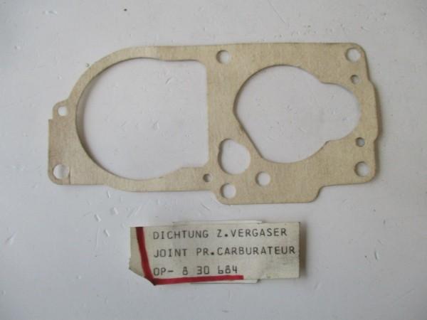 Opel Kadett B C Rekord B C Vergaserdichtung Solex Vergaser 30/35 830684 Original