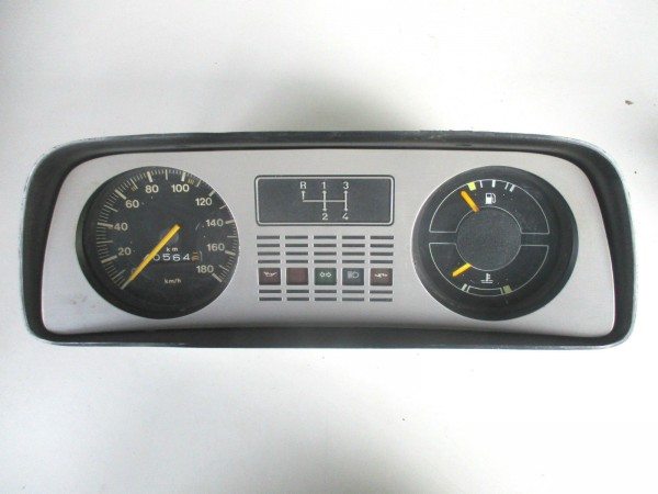 Ford Fiesta MK1 Tacho Kombiinstrument Tachometer 180km/h Bj.77