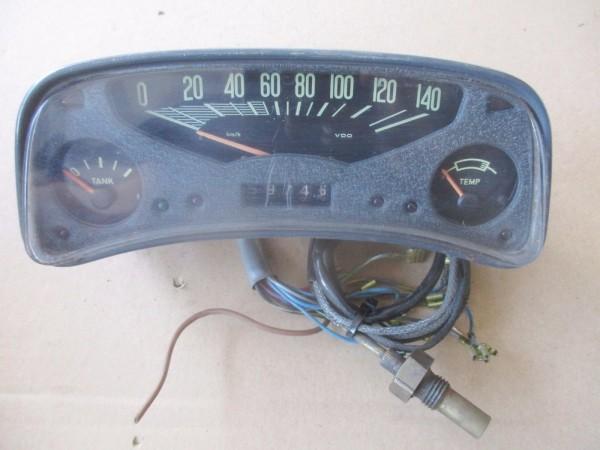 Borgward Arabella Oldtimer Tacho Tachometer 140km/h Kombiinstrument