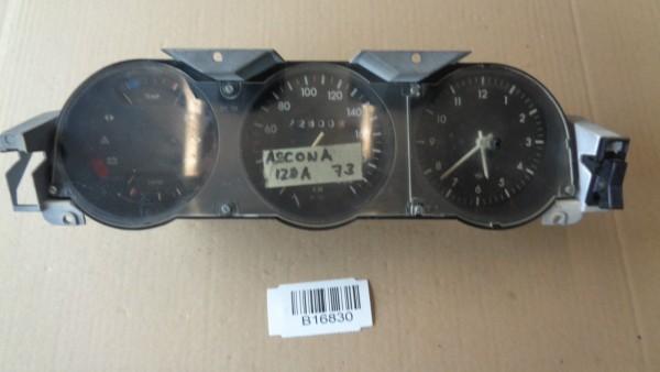 Opel Ascona A Manta A Tacho Kombiinstrument Tachometer mit Uhr