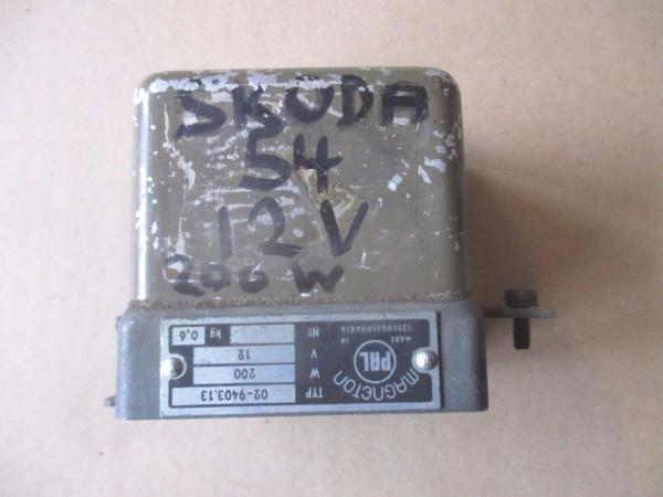 Skoda 1000 1200 1201 Regler Lichtmaschinenregler Magneton 02-9403.12