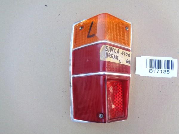 Simca 1100 Break Rücklicht Rückleuchte Glas links Bj.1969