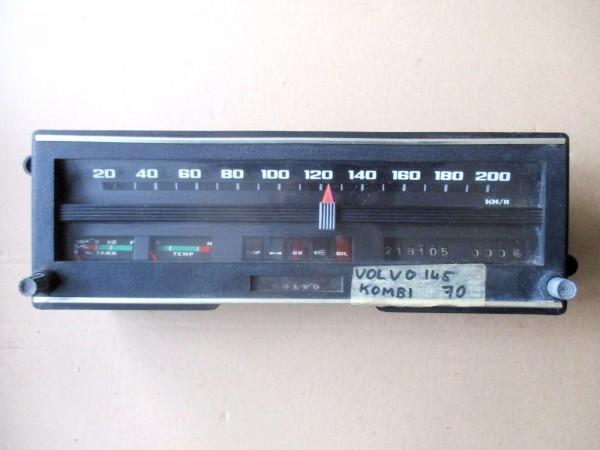 Tachometer Tacho 200 km/h Kombiinstrument Volvo 140 142 144 145 146