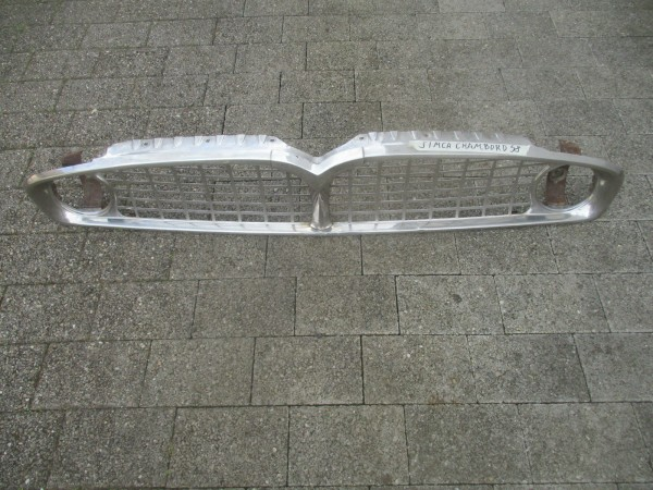 Simca Chambord Vedette Chrom Kühlergrill Grill Frontgrill original Bj.1958