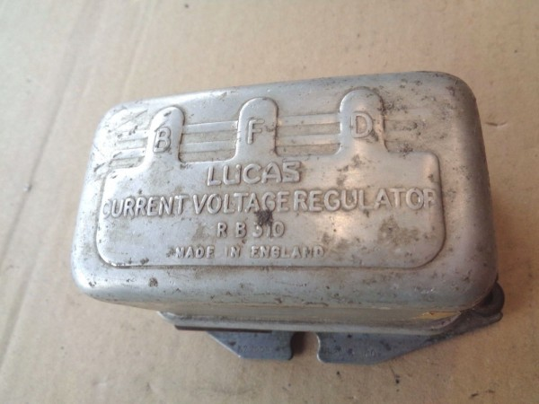 Vauxhall Cresta PA PB PC Lichtmaschinenregler voltage regulator 12V Bj.1957-66