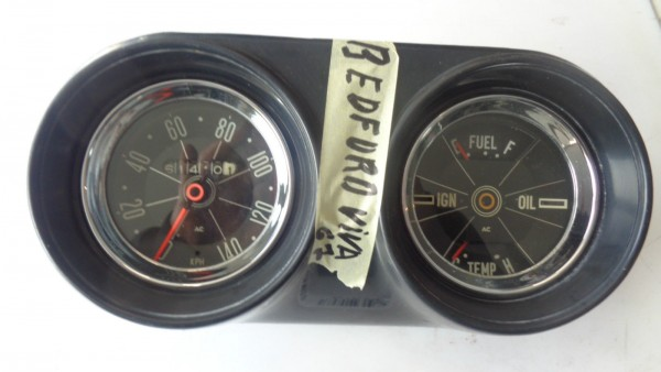 Opel Bedford Viva Kombiinstrument Tachometer Tacho Bj.1967 original AC