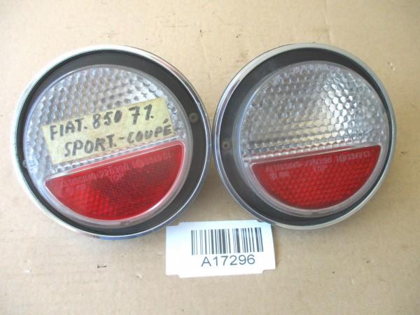 Rücklicht Heckleuchte Rückleuchten links rechts SET Fiat 850 Sport Coupe