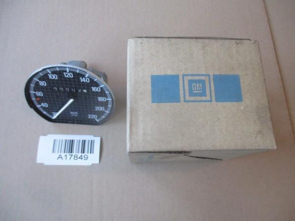 Opel Kadett D E Ascona C Tacho 220 Tachometer Speedometer W1125 1260289 Neu