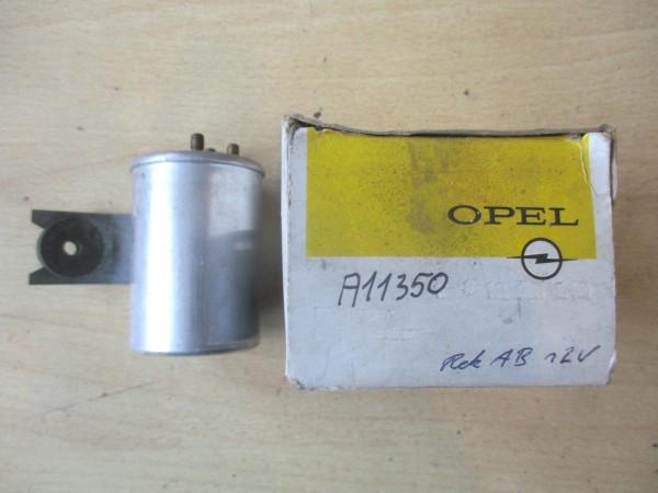 Opel Rekord A B erste Serie Blinkrelais Relais Original Hella NEU