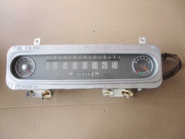 Oldtimer Tacho 140 km/h Tachometer Kombiinstrument Opel Rekord P2