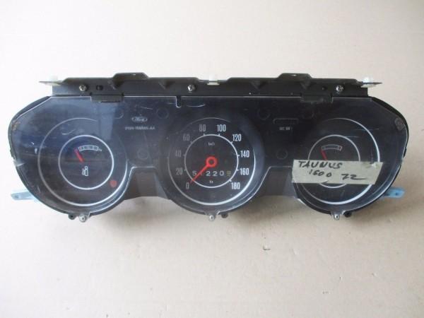 Tachometer Tacho 180 km/h Kombiinstrument Ford Taunus Knudsen MK1 Cortina MK3