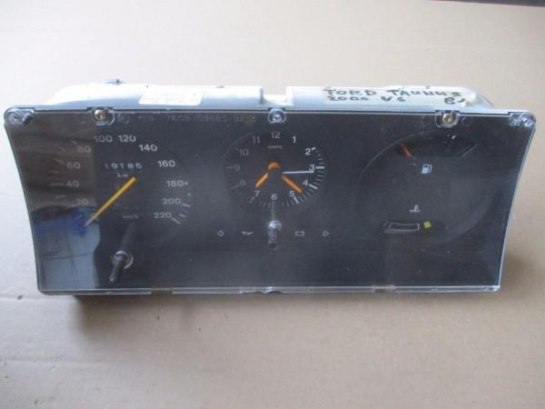 Ford Taunus 2000 V6 Bj.81 Tacho Kombiinstrument Tachometer 220km/h