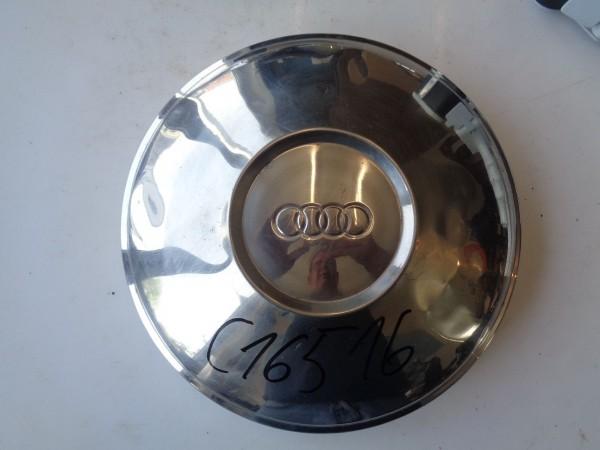 Audi 100 C1 F104 Chrom Radkappe Radblende Zierkappe Nabendeckel 1 Stk.