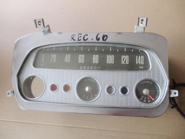 Oldtimer Tacho 140 km/h Tachometer Kombiinstrument Opel Rekord P1