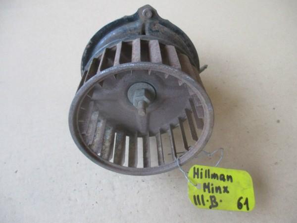 Hillman Minx 3 A B C Bj.58-65 Gebläsemotor Heizungsgebläse Gebläse