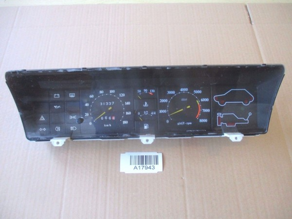 Tachometer Drehzahlmesser Kombiinstrument 180km/h Fiat Ritmo Tacho