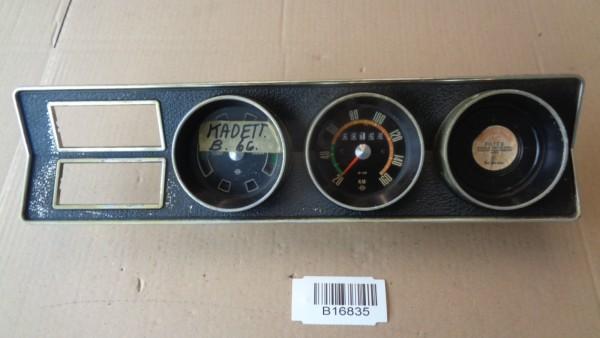 Opel Kadett B Caravan Limo Tacho Kombiinstrument Tachometer