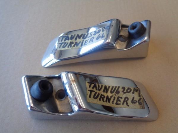 Ford Taunus P7 17M 20M Turnier Chrom Blende Abdeckung Halter 11431556