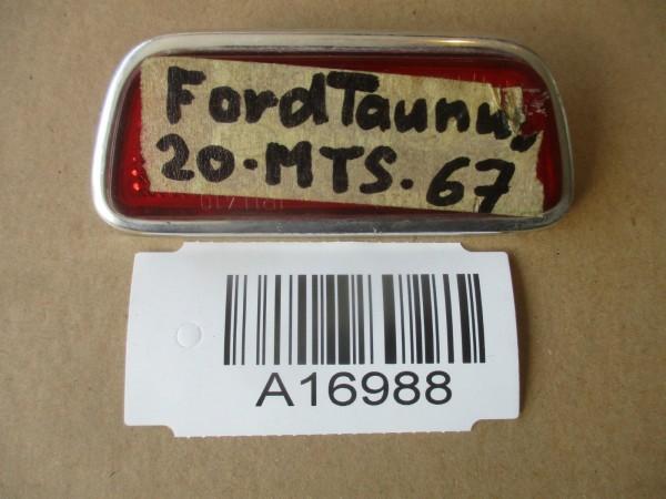 Ford Taunus 17M 20M P5 Rücktrahler Rücklichtstrahler