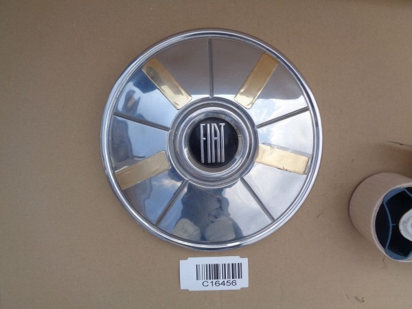 Fiat 850 124 125 127 128 130 132 Chrom Radkappe Radblende Zierkappe Oldtimer 1x