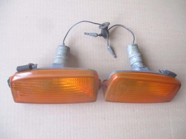 Ford Taunus MK2 Cortina MK4 Blinker vorne Glas Gehäuse SET 76BG13K301AA