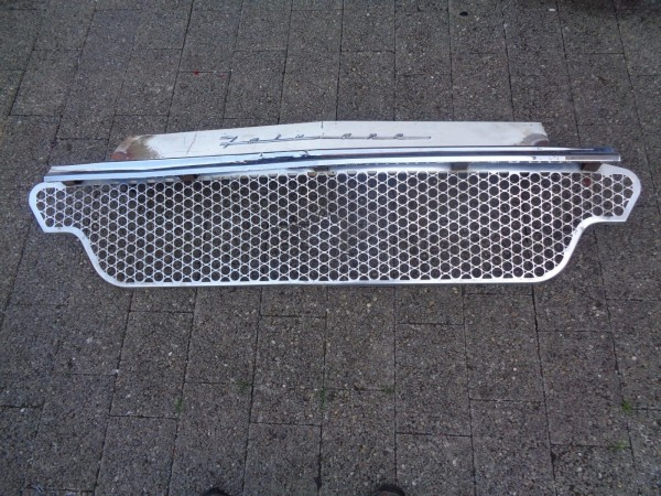 Ford Fairlane Frontblech Kühlergrill Chrom Front sheet RadiatorBj.1957-62