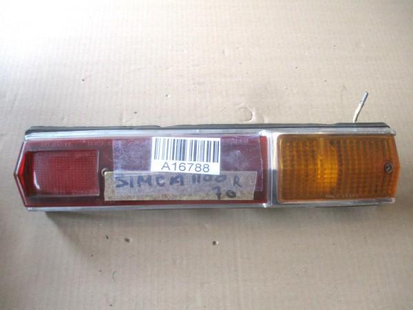 Rückleuchte Rücklicht Glas Gehäuse Rechts Simca 1100
