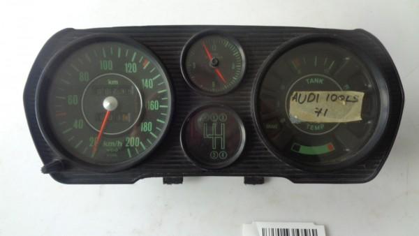 Audi 100 C1 Typ F104 Tachometer Tacho Kombiinstrument mit Uhr