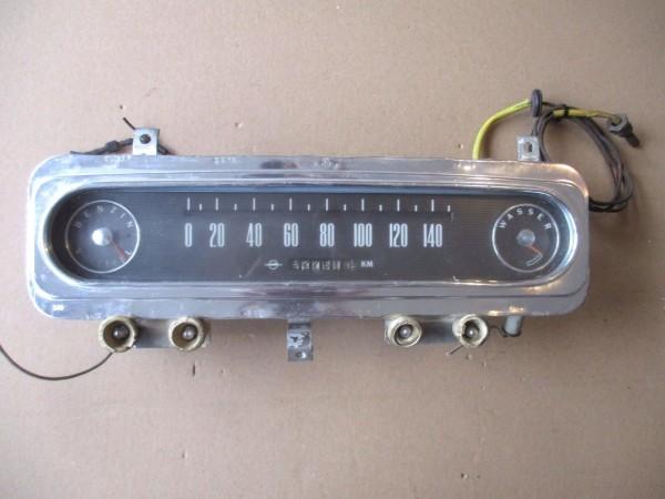 Oldtimer Tacho Tachometer Kombiinstrument 140km/h Opel Rekord P2