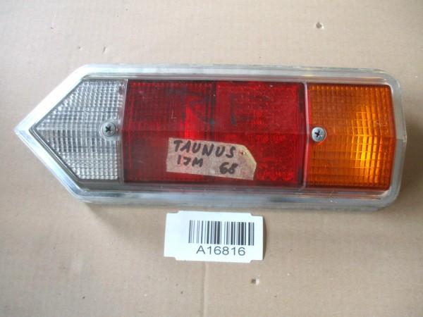 Rücklicht Rückleuchte Glas Gehäuse Rechts Ford Taunus 17M Bj.68
