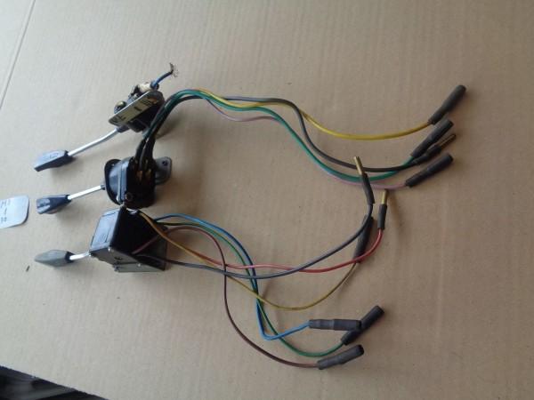 Citroen Ami 8 Bj.70 Wischerschalter Lenkstockschalter Blinker Licht Schalter SET