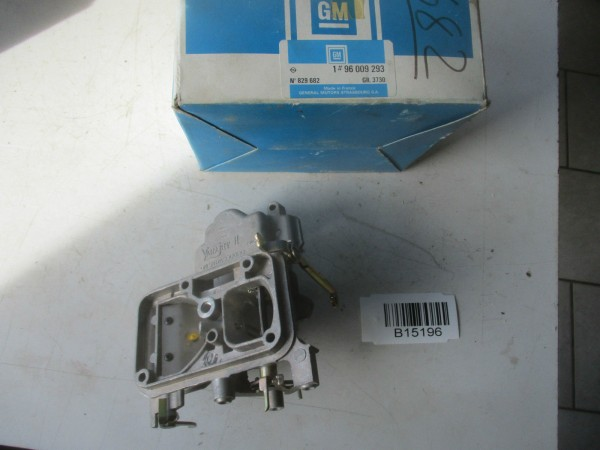 Vergaser Vergaserdeckel Varajet II 96009293 829682 Opel Kadett Manta Rekord