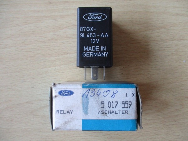 Ford Relais Kraftstoffrelais Kraftstoffabschaltung 87GX9L463AA